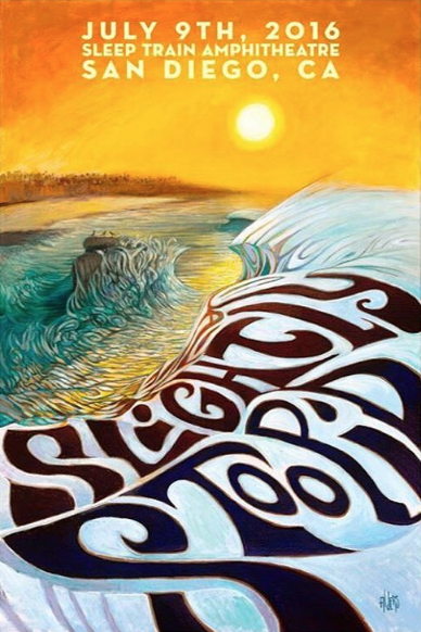 Slightly Stoopid Ocean Cliffs San Diego Art